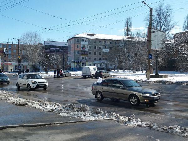Кропивницький: Жіноча автоколона рушила через центр міста