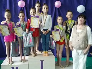 Травень видався щедрим на нагороди для юних грацій із Кропивницького