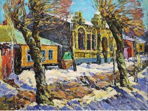 Музей Осмьоркіна представляє виставку до дня народження зодчого Якова Паученка