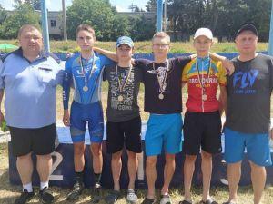 Кропивницькі велосипедисти завоювали низку нагород на чемпіонаті України