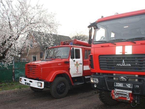 Кропивницький: За добу вогнеборці ліквідували дві пожежі
