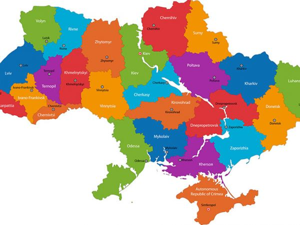 В Україні створили інтерактивну мапу з новим адмінустроєм