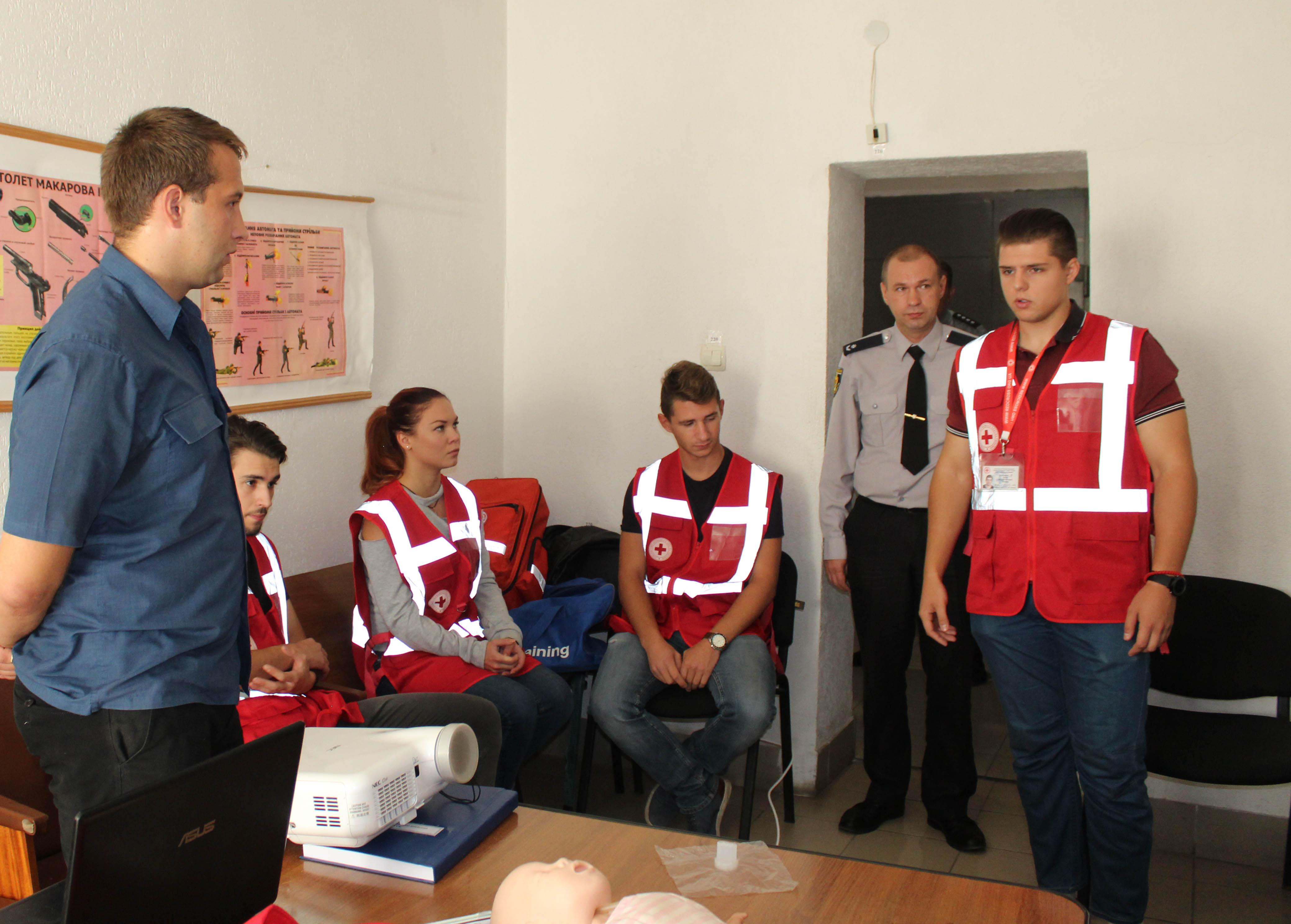 У Кропивницькому поліцейські вдосконалювали навички надання домедичної допомоги