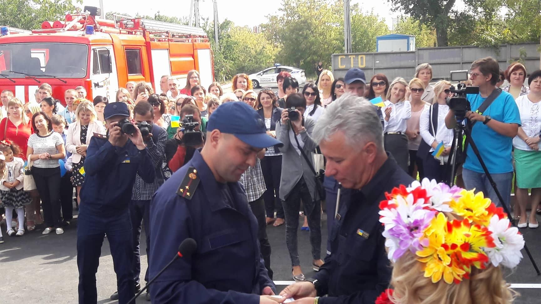 Ми заощадили 3 мільйони на будівництві пожежної частини, – Віталій Миронюк