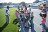 На стадіоні «Зірка» проводять екскурсії для дошкільнят
