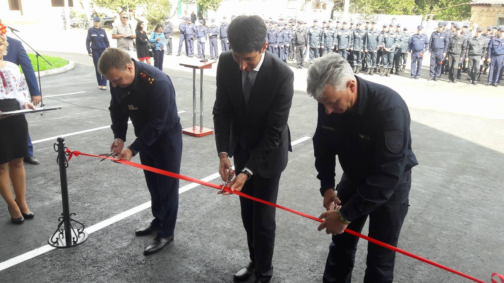 Пожежну частину вартістю 3,6 млн. гривень відкрили у Кропивницькому (ФОТО)