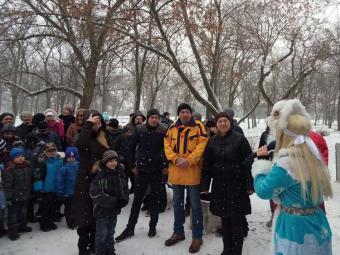 У Кропивницькому Дід Мороз завітав до дітей Некрасівки