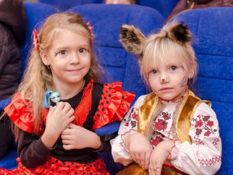 В Кропивницком для детей военных устроили настоящую «Зимнюю сказку» (ФОТО)