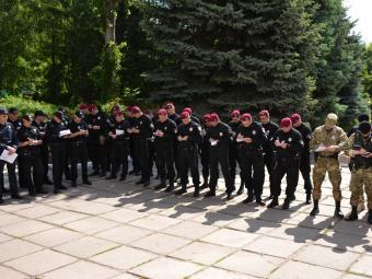 Поліцейські посилено охороняють Кропивницький