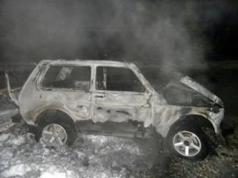 В Кропивницком взорван автомобиль оперативника СИЗО